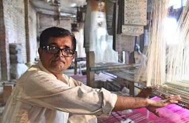 Clear Vision for Varanasi's Silk Weavers