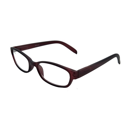Reading Glasses George Red Wine Single Vision