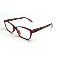 Optical Frame - Adult Ringo Red Wine