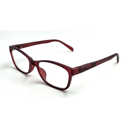 Reading Glasses Ringo Red Wine Single Vision